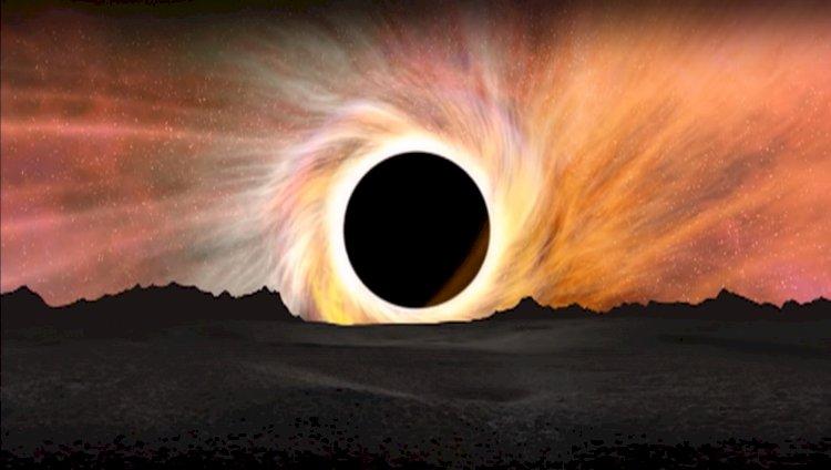 Что представляет из себя чёрная дыра?